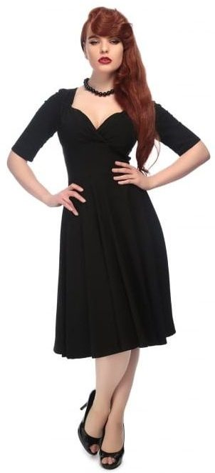 Trixie Doll Dress in Black