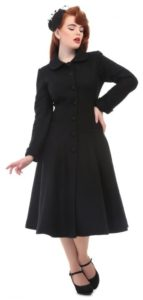 lillian black coat