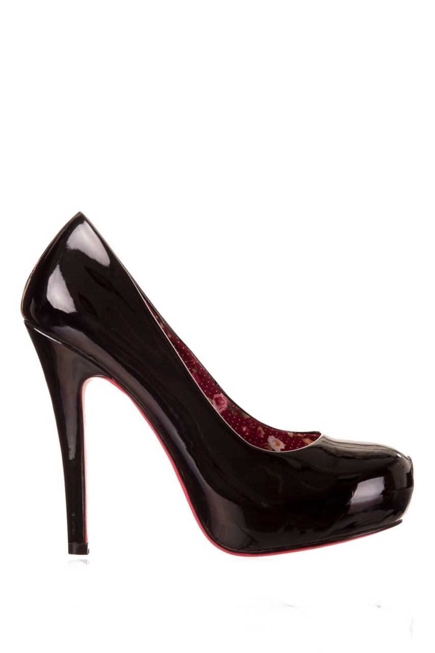 Beverly Sassy Shoes in Black