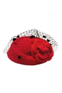 Jemma Hat in Red