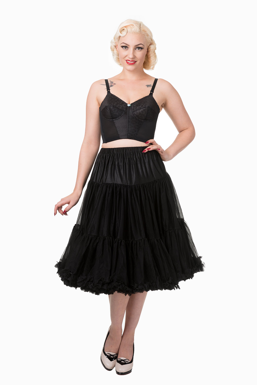 Lifeforms Petticoat in Black