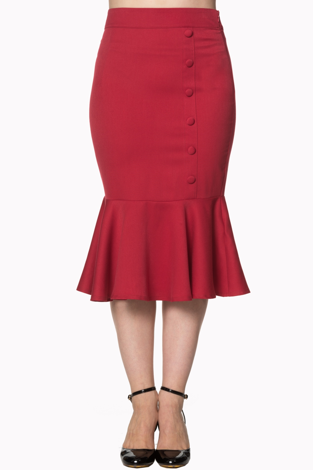 History Repeats Skirt Red