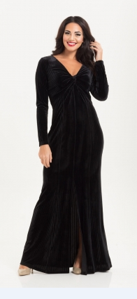 Morticia Black Gown